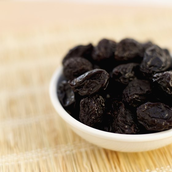 Dried prunes come loaded with nutrients, including vitamins A and K.