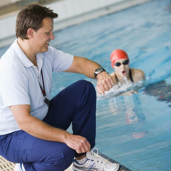 Swimmers stay motivated for many reasons.