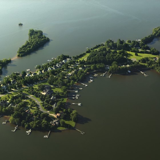 "Lake Norman, near Mooresville, is sometimes called North Carolina's ""inland sea."""