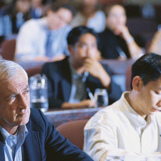 A seminar focusing on students and parents is a good way to cater to two separate target markets.