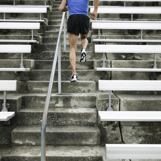 Stair climbing is a load-bearing exercise.