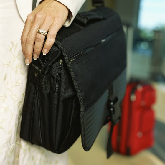 Airlines rules typically allow one piece of carry-on luggage for the bin and a personal item to stow under the seat.
