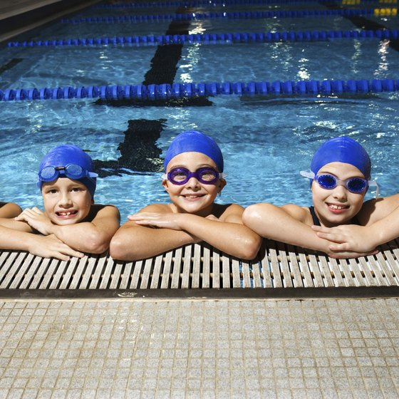 Swimming provides individuals of all ages a beneficial form of exercise.