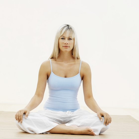 Restorative yoga poses may help over-stressed adrenal glands.
