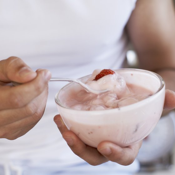 Yogurt that contains good bacteria may help prevent yeast buildup.