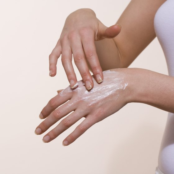 A cosmetics company may use product branding to emphasize soft skin benefits with lotion.