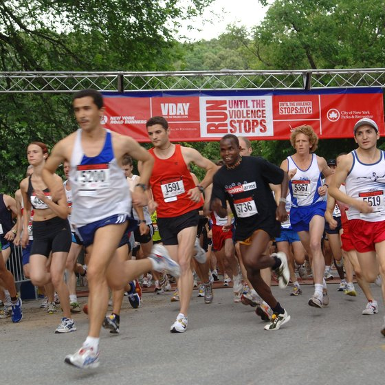 Training for a 5K race builds both speed and endurance..