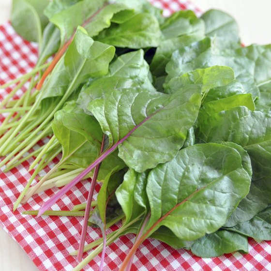 Swiss chard is a high potassium vegetable.