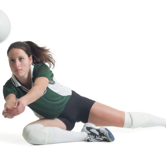 Volleyball players with lateral speed can get to balls better.