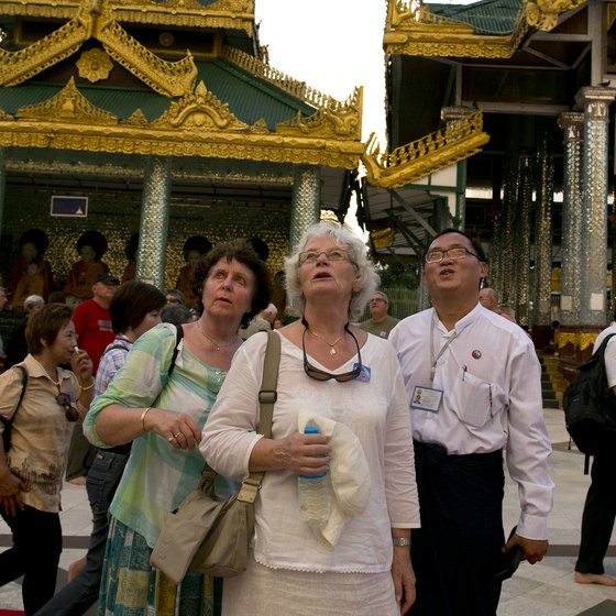 Visit temples respectfully in a skirt, dress or sarong.