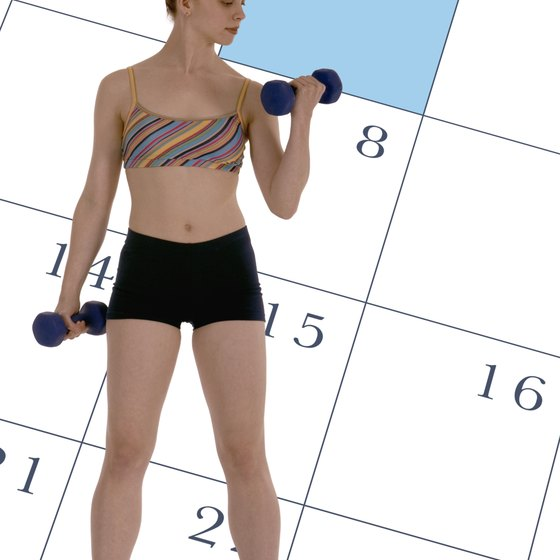 Schedule weight-training sessions so that you can rest between sessions.
