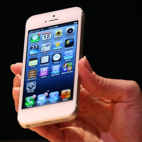 The iPhone provides business owners with mobile productivity apps.