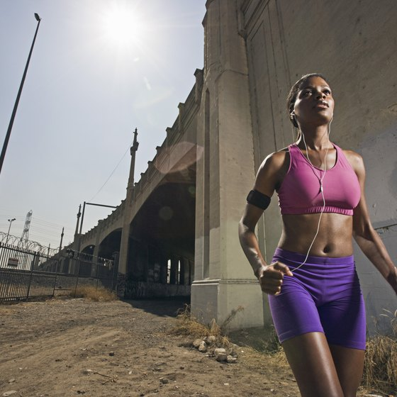 You'll need specific gear to add music to your jog.
