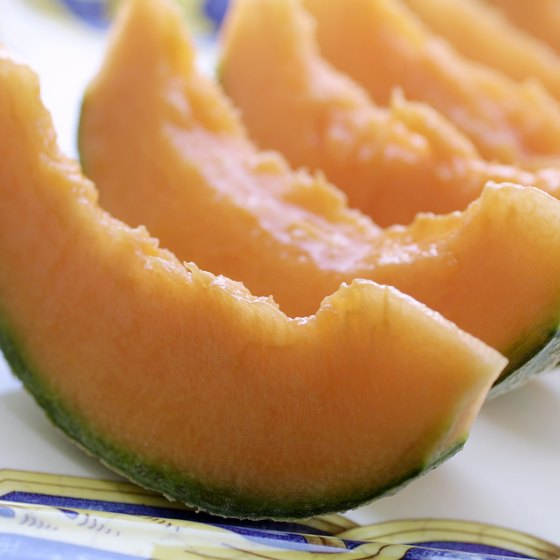 Melons contain the SOD antioxidant enzyme