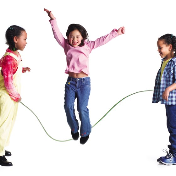 children skipping exercise - photo #11