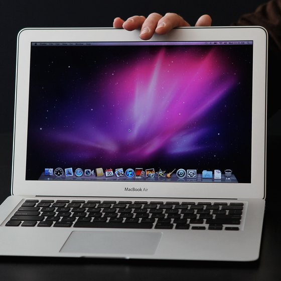 The MacBook Air is the most recent model.