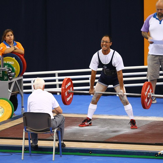Deadlifts are one of the three exercises in a powerlifting competition.