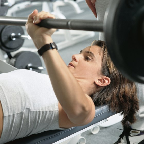 You can often bench press around half your body weight if you aren't trained.