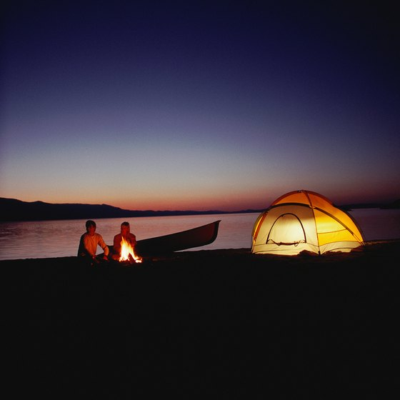 Some of Lake Oroville's remote campgrounds offer a true wilderness experience.