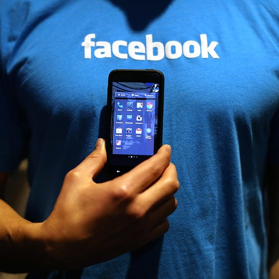 Facebook offers official apps for mobile phones and tablets.