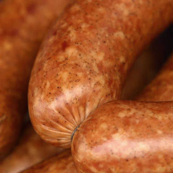 Festival sausages come from a family recipe passed down for generations.