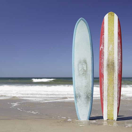 Grab your board and head to the OC's beaches for some free fun in the sun.