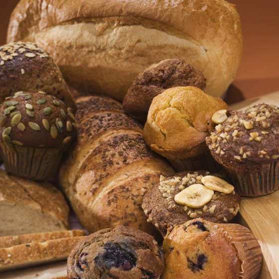 Baked goods often contain processed carbohydrates.