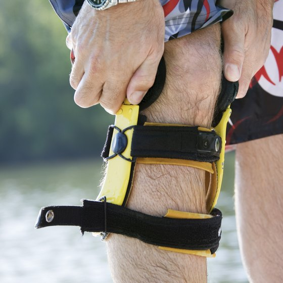 Doctors may recommend knee braces for people with weak knees.