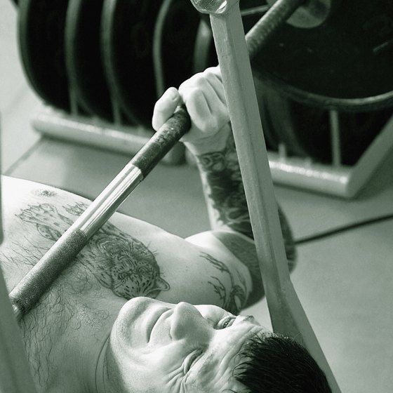 Get a bigger bench with stronger triceps.