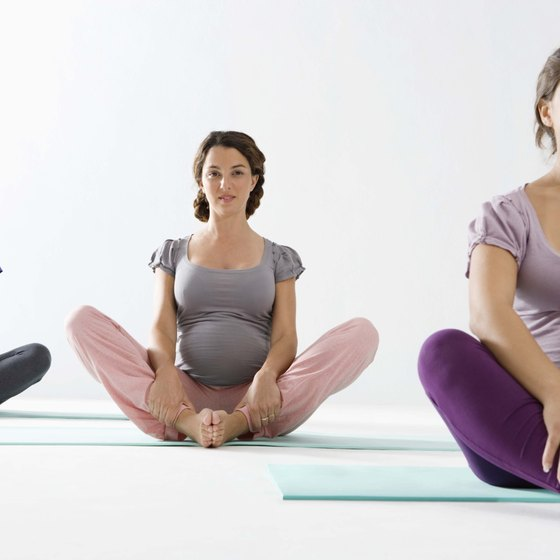 Pelvic tilt exercises can ease the back pain that is common in pregnancy.