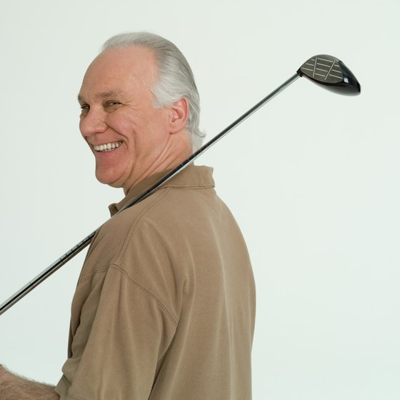 As golfers get older, building strength will help maintain their swing.