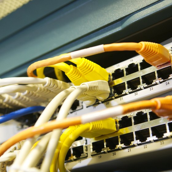 A firewall helps protect your company's internal data network.