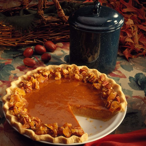 Sweet potato pie is a staple at this fall festival.