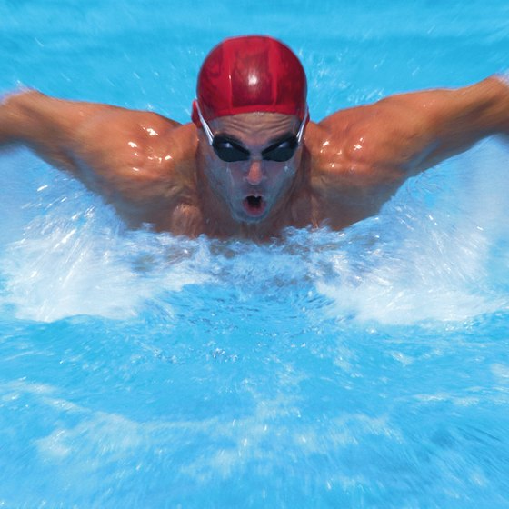 Swimmers have lower heart rate targets than runners.