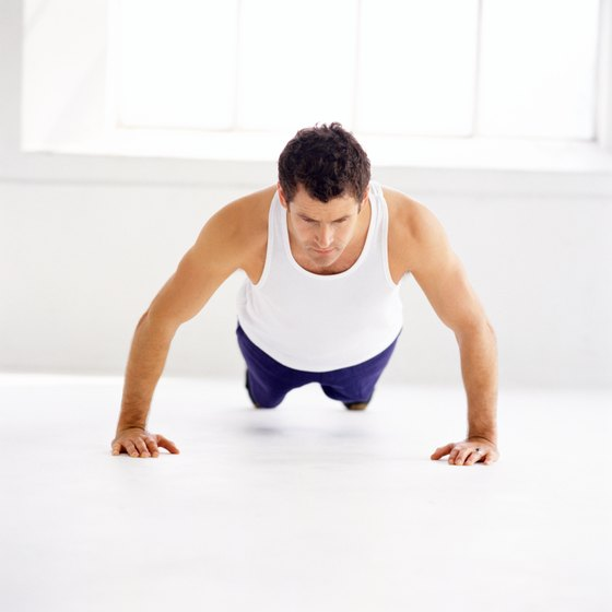 Proper form is essential for getting maximum benefits from your pushups.