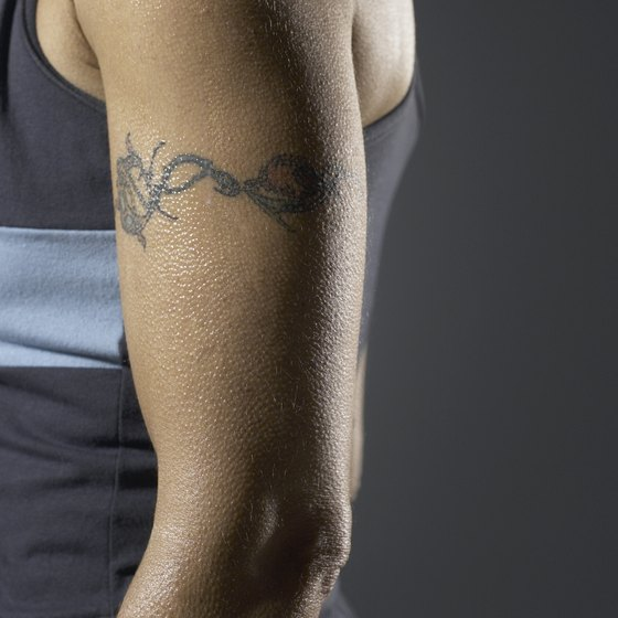 A tattoo must be properly cared for.