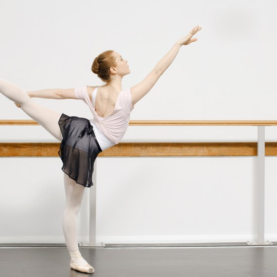 Weekly hard work in ballet class will help improve your technique.