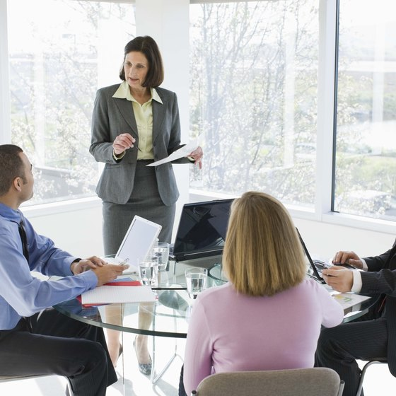 Short agendas help brief meetings stay focused.