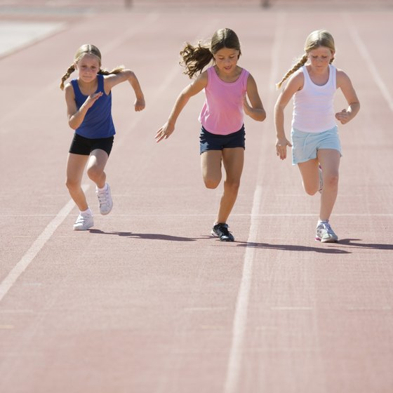 Agility drills help children coordinate speed and grace.