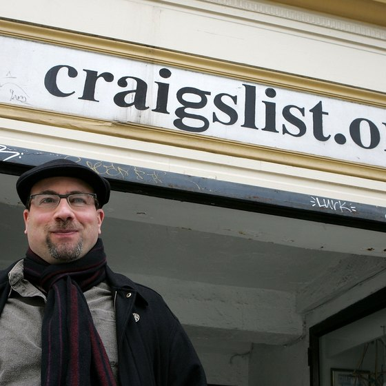 Craig Newmark started Craigslist in 1995.