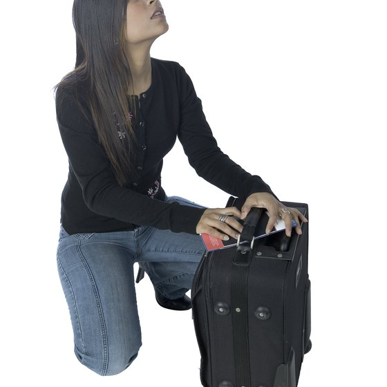 The chance of having your luggage lost is a major disadvantage of air travel.