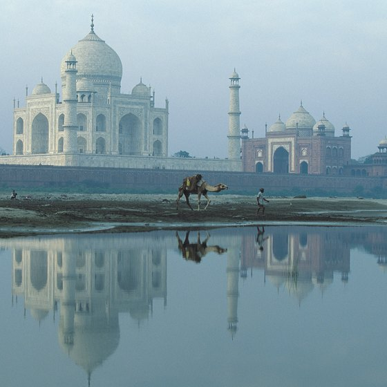 The Taj Mahal is a UNESCO World Heritage Site.