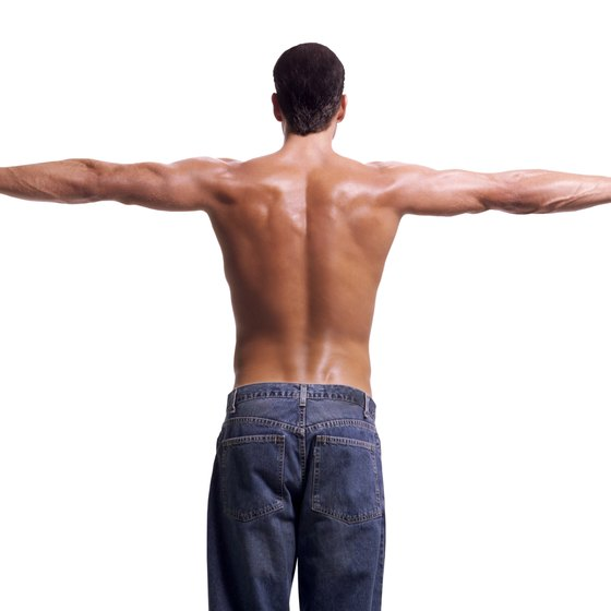 Firm, toned glutes can improve a man's posture.