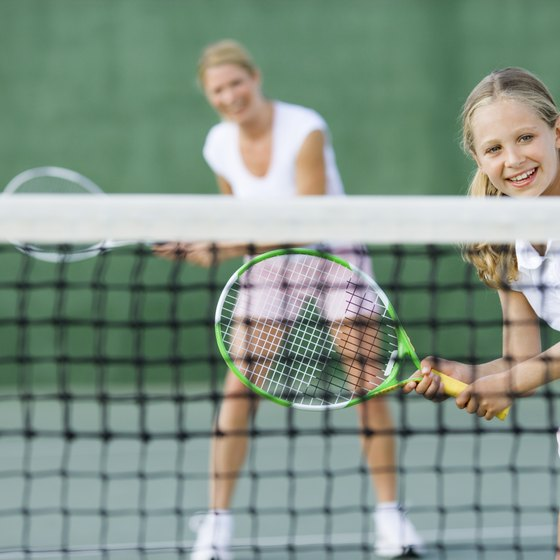Tennis is one of many outdoor recreational activities at Pioneer Park.