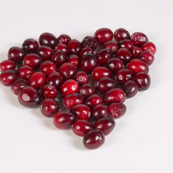 Cranberries may provide heart-healthy benefits.