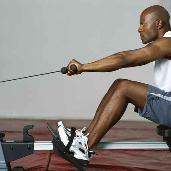 Rowing can have both cardiovascular and muscle-building benefits.