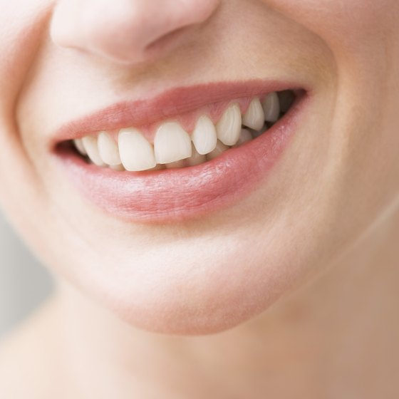 A woman with a healthy smile.