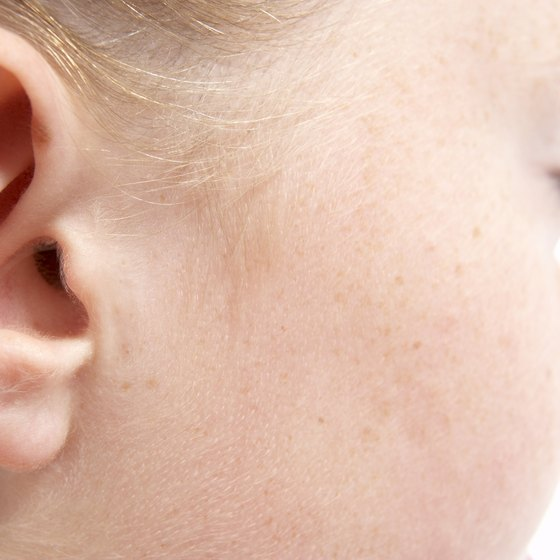 Child's ear