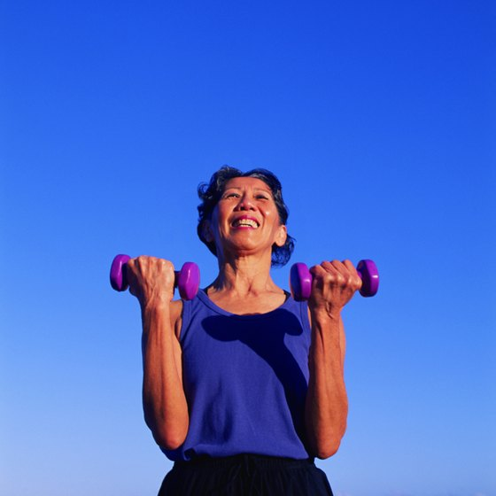 Firming exercises are excellent for women's muscle strength and bone health.