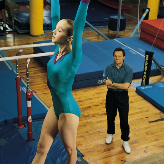 The use of gymnastics equipment requires attention to safety.